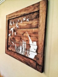 Cool Interior Design DIY Pallet to Beautify Wall Hangings of your Home 02