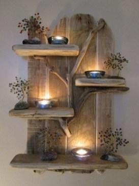 Cool Interior Design DIY Pallet to Beautify Wall Hangings of your Home 30