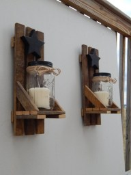 Cool Interior Design DIY Pallet to Beautify Wall Hangings of your Home 35