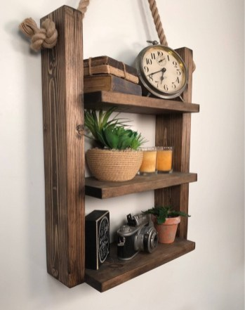 Cool Interior Design DIY Pallet to Beautify Wall Hangings of your Home 37