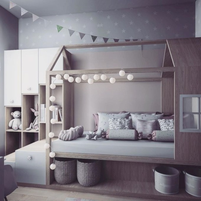 Crazy And Best Renovation Ideas for Your Child's Bedroom to Make It More Comfortable 17