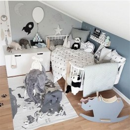 Crazy And Best Renovation Ideas for Your Child's Bedroom to Make It More Comfortable 32