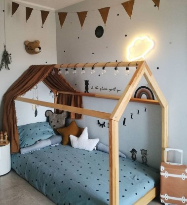Crazy And Best Renovation Ideas for Your Child's Bedroom to Make It More Comfortable 36