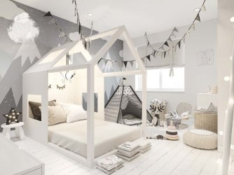 Crazy And Best Renovation Ideas for Your Child's Bedroom to Make It More Comfortable 40