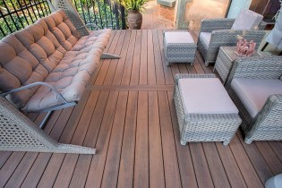 Easy DIY Wooden Deck Design For Backyard 10