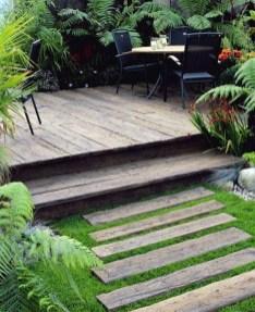 Easy DIY Wooden Deck Design For Backyard 13
