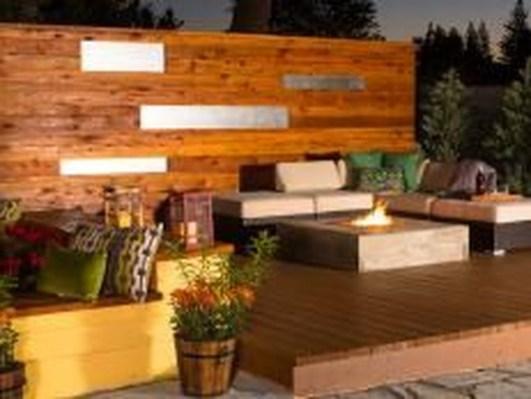 Easy DIY Wooden Deck Design For Backyard 15