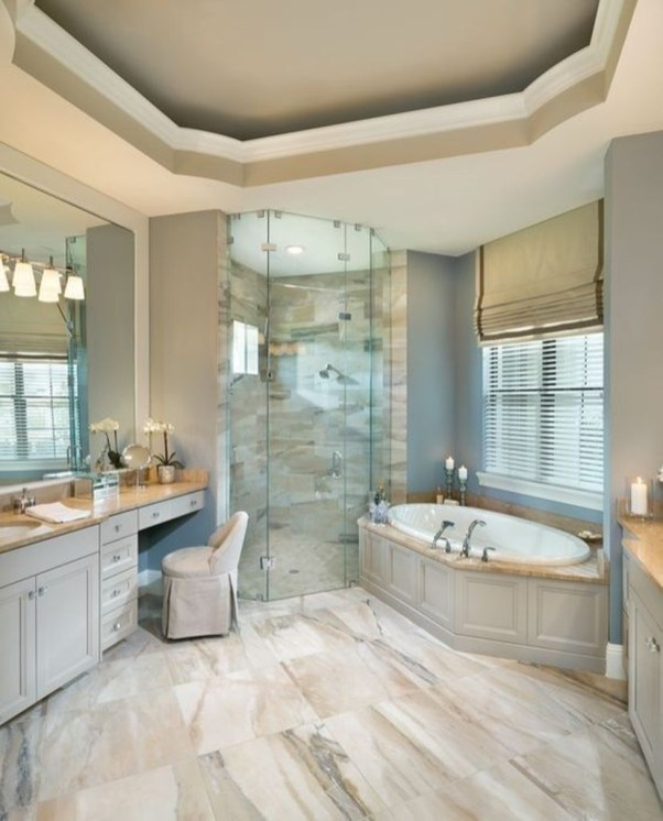 Majestic Bathroom Decoration to Perfect Your Dream Bathroom 66