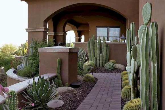 Mesmerizing Side Yard Landscaping Design Ideas to Perfect Your Garden Design 52