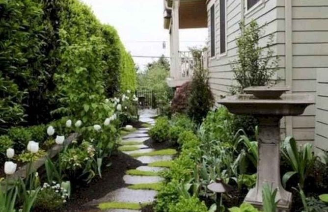 63 Mesmerizing Side Yard Landscaping Design Ideas to Perfect Your Garden Design
