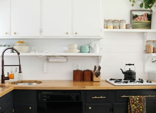 Most Amazing Kitchen Cabinet Makeover Design and Project 19