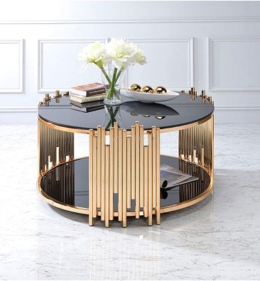 The Charm of Homely Contemporary Living rooms with Oval Coffee Table Decorations 02