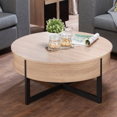The Charm of Homely Contemporary Living rooms with Oval Coffee Table Decorations 28