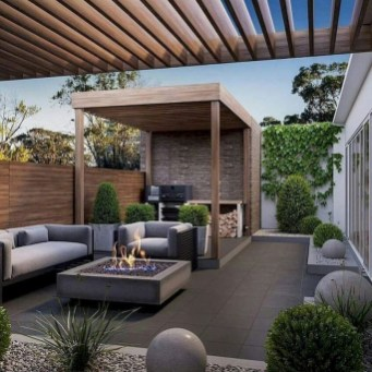 Unique Paver Terrace Design That Will Enhance Your Home Luxury Feel 08