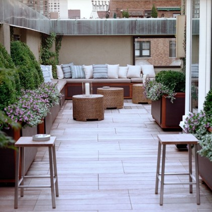 Unique Paver Terrace Design That Will Enhance Your Home Luxury Feel 17