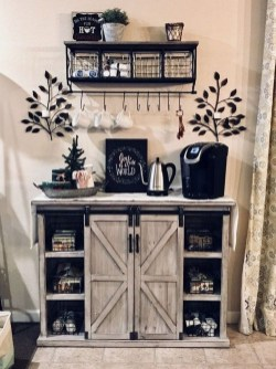Best Coffee Bar Decorating Ideas for Your That Like a Coffee 11
