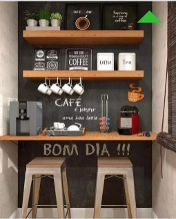 Best Coffee Bar Decorating Ideas for Your That Like a Coffee 12