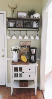 Best Coffee Bar Decorating Ideas for Your That Like a Coffee 21
