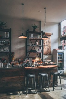 Best Coffee Bar Decorating Ideas for Your That Like a Coffee 23