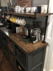 Best Coffee Bar Decorating Ideas for Your That Like a Coffee 28