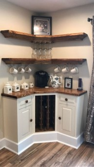Best Coffee Bar Decorating Ideas for Your That Like a Coffee 29