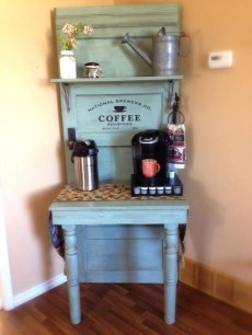 Best Coffee Bar Decorating Ideas for Your That Like a Coffee 33