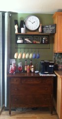 Best Coffee Bar Decorating Ideas for Your That Like a Coffee 39