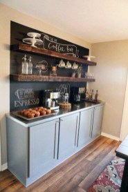 Best Coffee Bar Decorating Ideas for Your That Like a Coffee 40