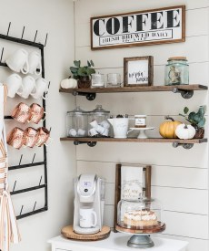 Best Coffee Bar Decorating Ideas for Your That Like a Coffee 52