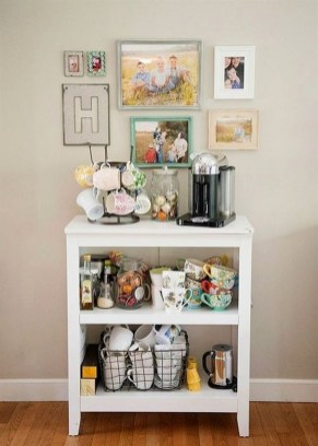 Best Coffee Bar Decorating Ideas for Your That Like a Coffee 55