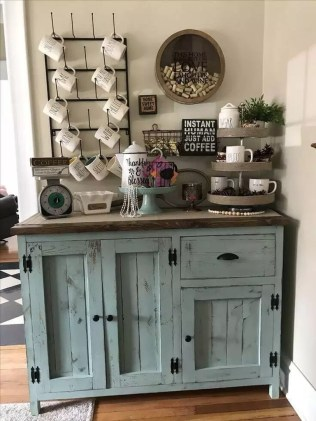 Best Coffee Bar Decorating Ideas for Your That Like a Coffee 62