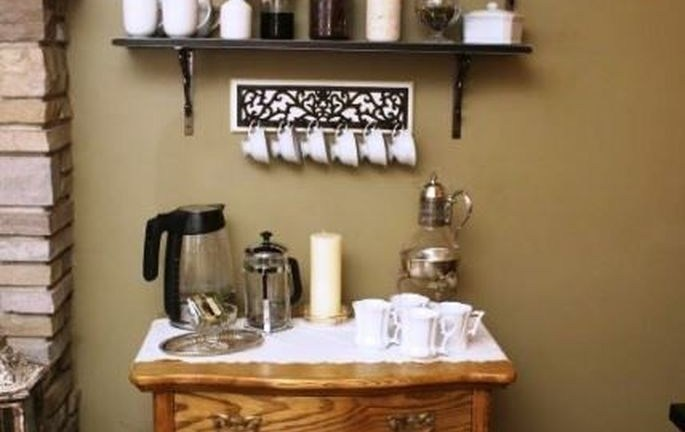 69 Best Coffee Bar Decorating Ideas for Your That Like a Coffee