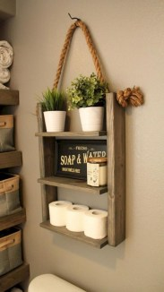 Cozy Fall Bathroom Decorating Ideasl 03