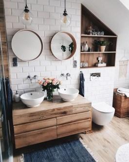 Cozy Fall Bathroom Decorating Ideasl 20
