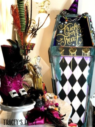 Creepy Halloween Coffin Decorations 26