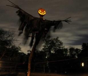 DIY Creepy Halloween Decorating Ideas Outdoors 02