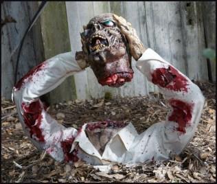DIY Creepy Halloween Decorating Ideas Outdoors 29