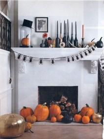 Elegant Halloween Mantel décor You Must Try In Halloween 2019 02