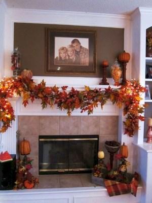 Elegant Halloween Mantel décor You Must Try In Halloween 2019 09