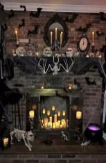 Elegant Halloween Mantel décor You Must Try In Halloween 2019 20