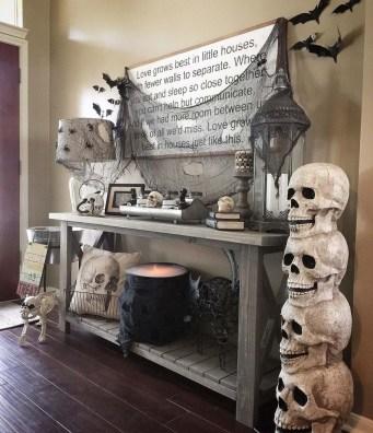 Elegant Halloween Mantel décor You Must Try In Halloween 2019 28