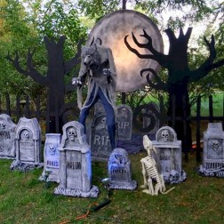 Most Amazing DIY Halloween Decoration Ideas to Make Your Outdoor Decoration More Perfect 55