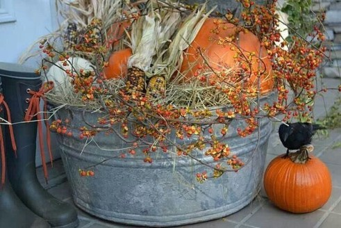Most Beautiful Fall Decorating Ideas That Will Make More Perfect Home In This Fall 40
