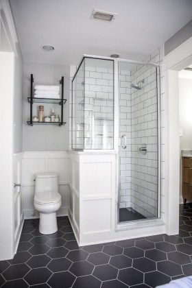 Small And Efficient Bathroom Renovation 25