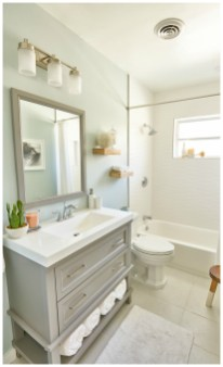 Small And Efficient Bathroom Renovation 30