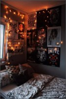 Small Bedroom Decoration with Halloween Ornament 10