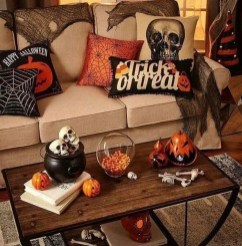 Small Bedroom Decoration with Halloween Ornament 19
