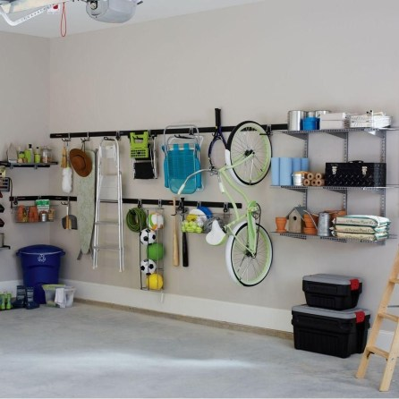 Smart and Comfortable Garage Organization for Your Small Room 02