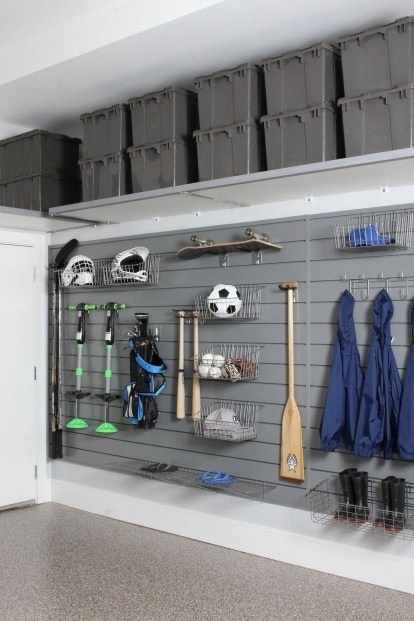 Smart and Comfortable Garage Organization for Your Small Room 11