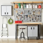 Smart and Comfortable Garage Organization for Your Small Room 16